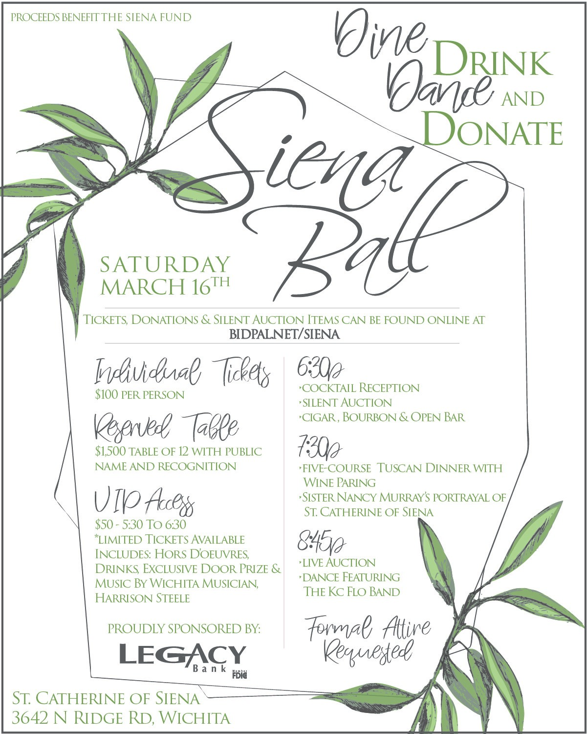 Siena Ball Event