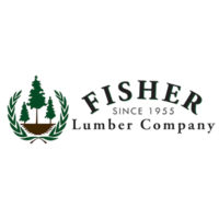 Fisher Lumber Company Local Legacy Merchant Logo