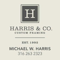 Harris & Co Frame Shop Local Legacy Merchant Logo