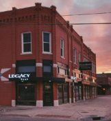 Legacy Bank red brick building