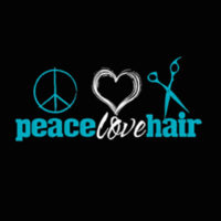 Peace Love Hair Salon Local Legacy Merchant Logo