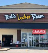 Tad's Locker Room storefront