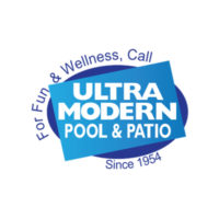Ultra Modern Pool & Patio Local Legacy Merchant Logo