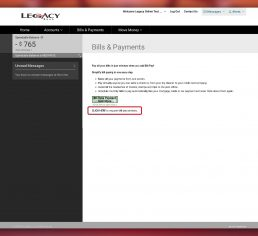 Legacy Bank Online Bill Pay 2